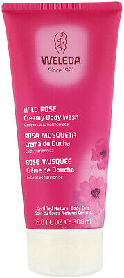 Weleda, Wild Rose Creamy Body Wash, 6.8 fl oz (200 ml)