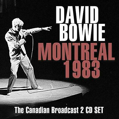 David Bowie - Montreal 1983 (2cd) - Double CD - New