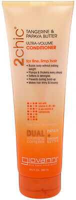 Giovanni, 2chic, Ultra-Volume Conditioner, for Fine, Limp Hair, Tangerine and