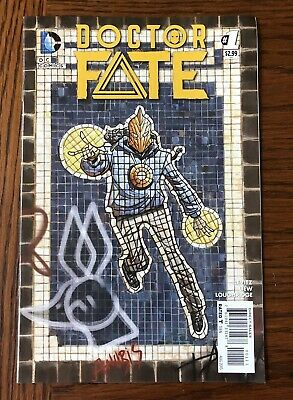 Doctor Fate #1. New 52.  1st Khalid Nassour - Movie coming! DC 2015