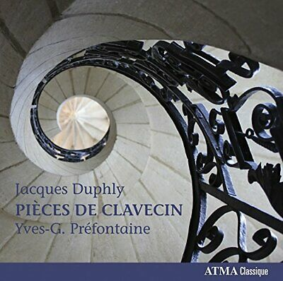 Yves-G. Préfontaine - Duphly Pieces For Harpsichord - Double CD - New