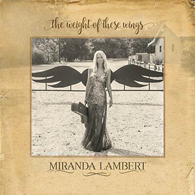 Miranda Lambert - Weight of These Wings - Double CD - New