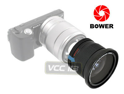 Ultra Wide Angle Macro Fisheye lens for Sony Nex 3n a6000 a5100 w 16-50 16mm