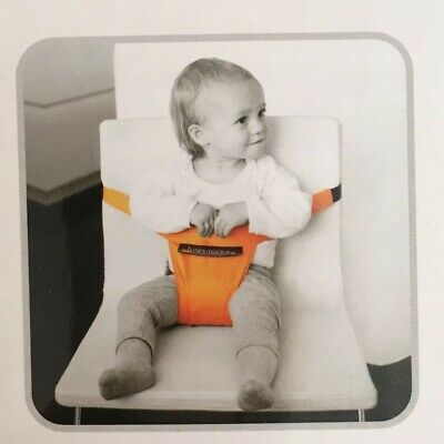 Mini Monkey Minichair: Portable Baby Travel High Chair Strap Harness/Belt