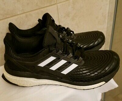 Adidas Energy Boost Size US 9.5 M (D) EU 43 13 Men's Running Shoes Black CG3359