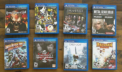 Child of Light Persona Shinibido - Rare Wholesale Lot of 6 PS VITA Games