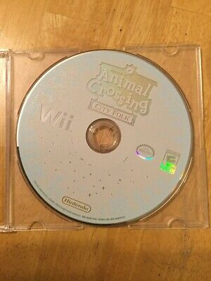 Animal Crossing: City Folk (Nintendo Wii, 2008) Disc only