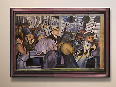 Diego Rivera Painting  - 20th Century art