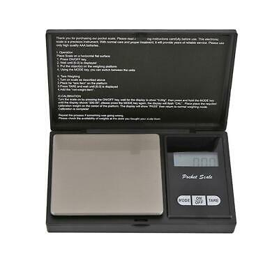 High Precision LCD Blue Backlight Digital Electronic Jewelry Pocket Scale R1BO