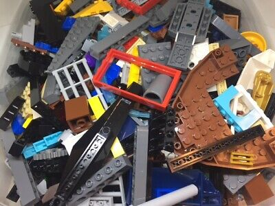 3 POUNDS OF LEGOS Bulk lot Bricks  Star Wars City Bricks parts pieces  Lego