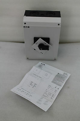 New! Sealed! Eaton a & Off-Switch, Body, Cam Switches, P3-100/I5