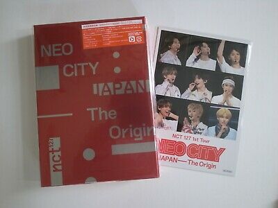 NCT 127  NEO CITY JAPAN The Origin 3 DVD Pack limited  Photo book +Magnet sheet