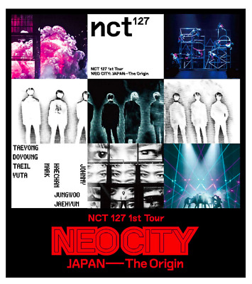 NCT 127 1st Tour NEO CITY JAPAN The Origin Blu-ray Disc 1- limited edition