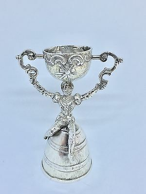 Wager Marriage Cup 1902 Chester -Rare Seated Man - Berthold Muller