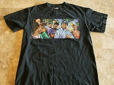 Good Used Condition Mens Dgk Ice Cube T Shirt Size Small Boyz N The
