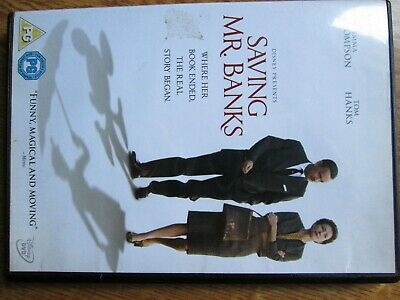 """Saving Mr.banks"" ** On Dvd ** Thompson/Hanks Region 2 Backstory To Mary Poppins"