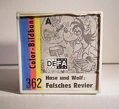 "06 313 DDR Color-Bildband ""Hase und Wolf: Falsches Revier (362)"""