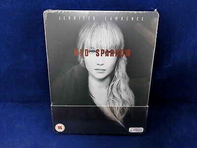 RED SPARROW 4K UHD Steelbook Bluray Jennifer LawrenceMatthias Schoenaerts