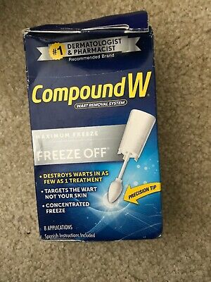 COMPOUND FREEZE OFF Plantar Wart Removal Treatment Spray