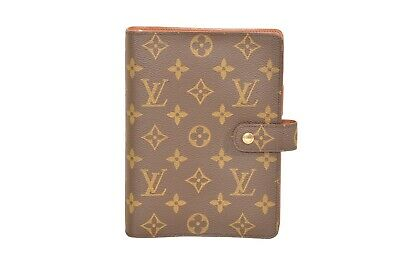 Louis Vuitton Monogram Agenda MM Diary Cover Organizer R20105 - YF00859