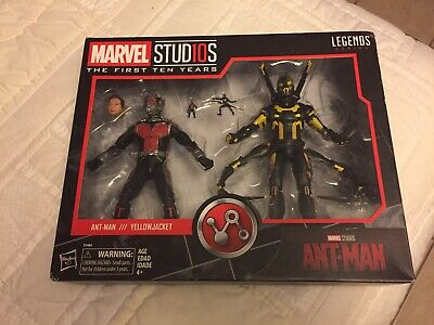 """New Marvel Legends 6"""" MCU Studios the First Ten Years Ant-Man Yellow Jacket"""