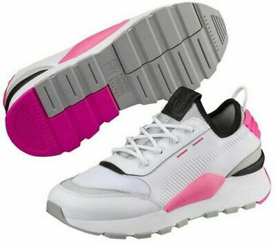 NEW PUMA RS-0 Sound PS Kids Girls Boys Athletic Shoes White/Pink SELECT SIZE