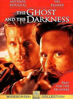 The Ghost and the Darkness Widescreen DVD Val Kilmer Michael Douglas New&Sealed
