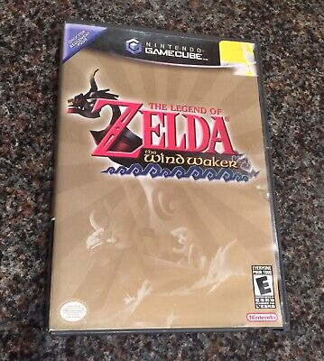 Nintendo Gamecube Legend Of Zelda The Wind Waker Game Manual And Case Complete