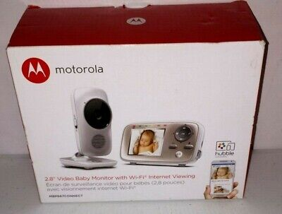 """Motorola MBP667 Connect Digital Video Color Screen Baby Monitor with Wi-Fi, 2.8"""""""