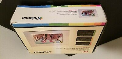 "New Polaroid XSA-10169S 10.2"" Digital Picture Photo Frame Open Box Simplicity"