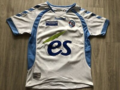 Maillot RCSA Racing Club De Strasbourg RCS 10-12A 2007-2008 Home Jersey football