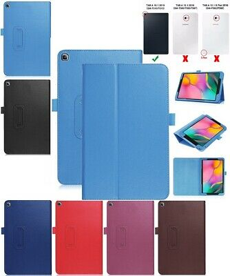 "Leather Flip Smart Case Stand Cover For Samsung Galaxy Tab A 10.1"" 2019 SM-T515"
