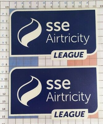 Ireland Patchs badges X 2 sse airtricity League 14/20 maillot Foot Dundalk, Cork