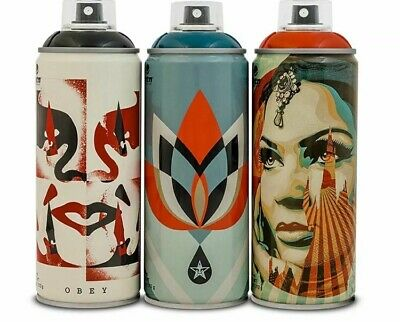 Obey/Shepard Fairey X Montana Spray Can Paint SET! Beyond The Street IN HAND!