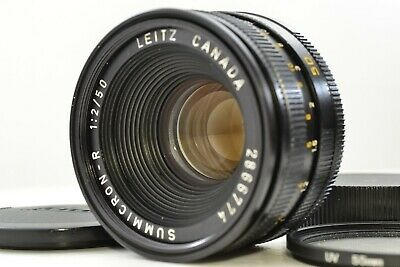 *Excellent+++* Leica Leitz CANADA SUMMICRON-R 50mm f/2 MF Lens #2274