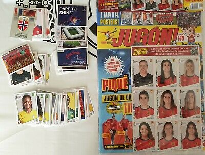 Panini Women World Cup France 2019: 128 different stickers set+Spain Update