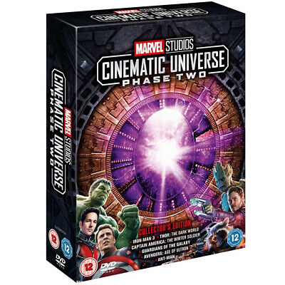Marvel Studios Cinematic Universe Phase 2 New and Box Set UK DVD Region 2 DVD