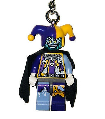 LEGO® Minifigure Jestro from NEXO KNIGHTS, Key Chain / Bag Charm (853683)