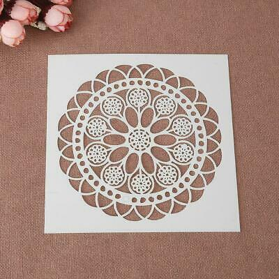 Mandala  Reusable Stencil  5 x 5 inc Tile  Furniture Wall ART Craft DIY