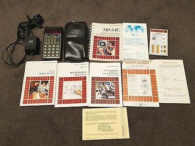 HP 34C Vintage Calculator - Working and Complete in VGC