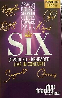 SIX The Musical  American Premiere Chicago Shakespeare