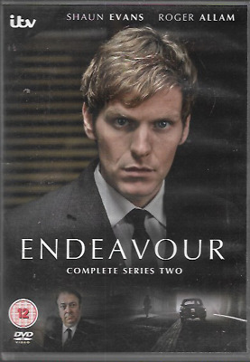 Endeavour Complete Itv Series Two Second Genuine R2 Dvd Shaun Evans 2-Disc Vgc