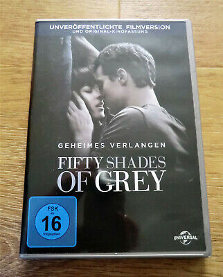 DVD - Fifty shades of Grey Geheimes Verlangen