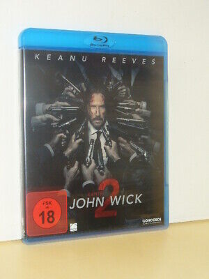 John Wick 2 Blu Ray Bluray Fsk 18