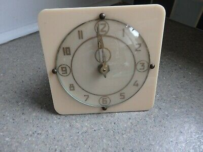 """Vintage """"Clyde"""" Synchronous Clock Movement & For Spares or Repairs"""