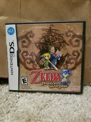 The Legend of Zelda: Phantom Hourglass (Nintendo DS, 2007) cib