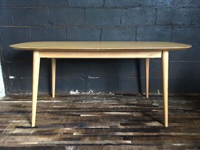Mid Century Modern Extending Dining Table