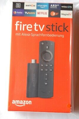 Amazon Fire TV Stick (2. Generation) mit Alexa-Sprachfernbedienung 2019, NEU OVP