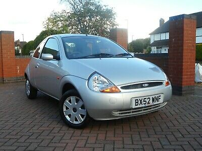 Ford Ka 1.3, Only 13000 Miles With A Full History And No Rust.  2 Owners Wow