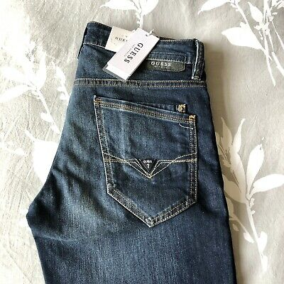 Guess Mens Skinny Angels Pocket Jeans ✨BRAND NEW WITH TAGS✨